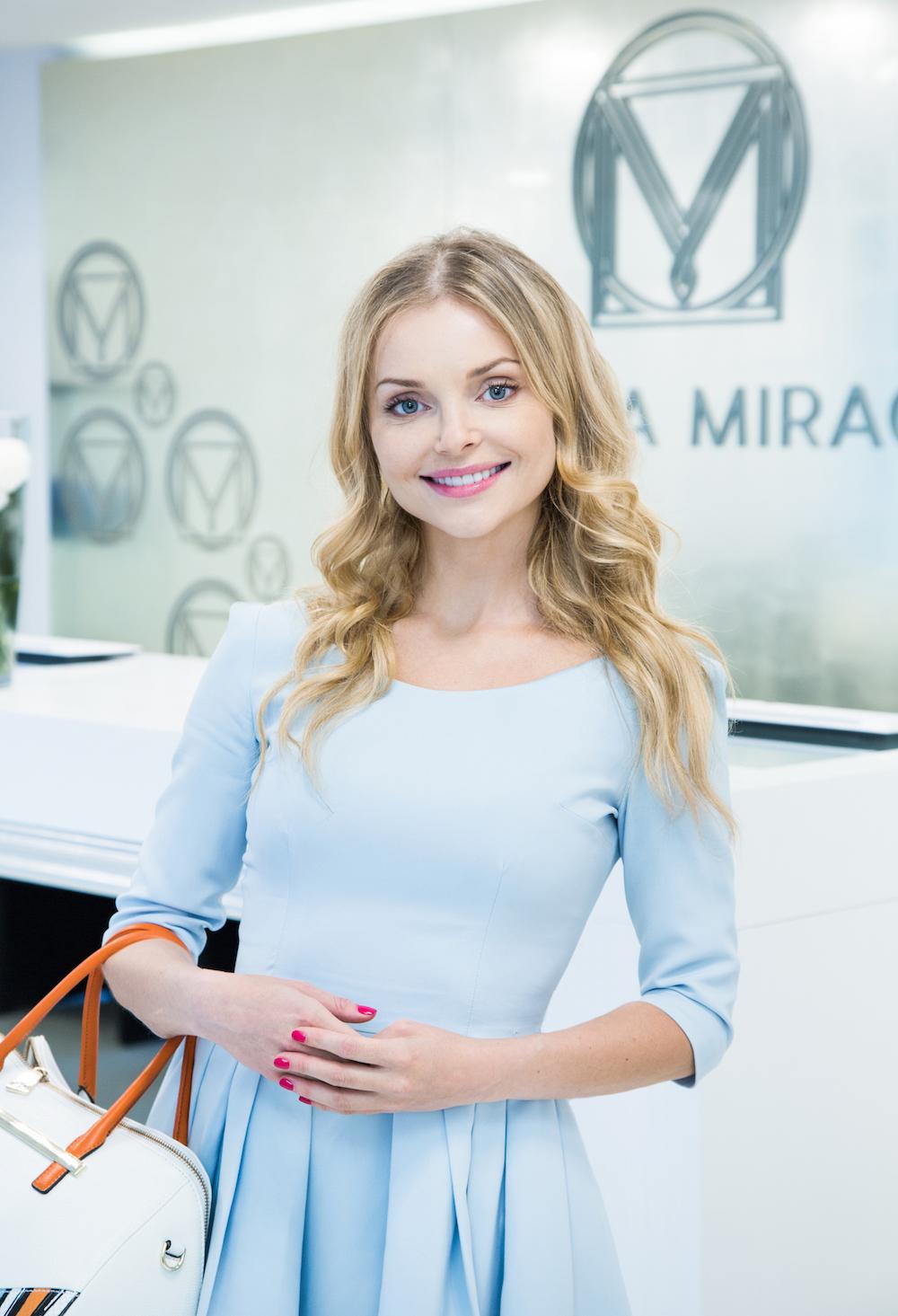 Izabela Miko od wielu miesięcy jest ambasadorką Kliniki Miracki