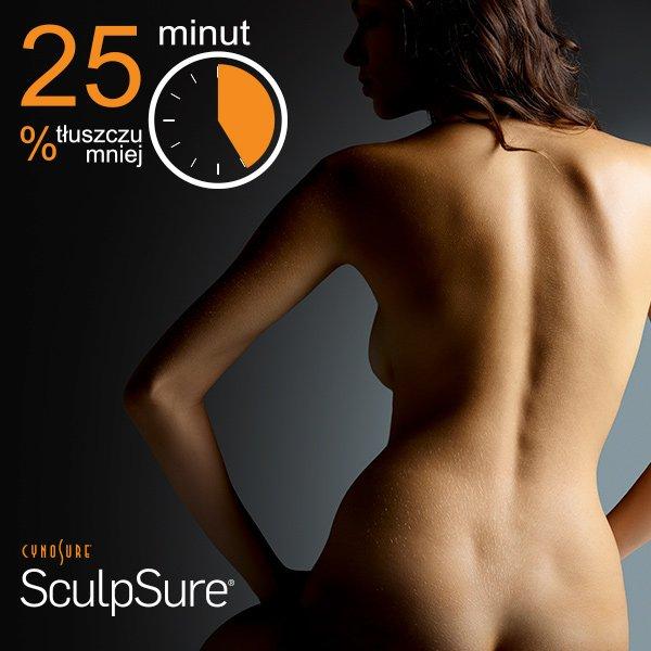 Laserowe, nieinwazyjne usuwanie tkanki tłuszczowej SculpSure