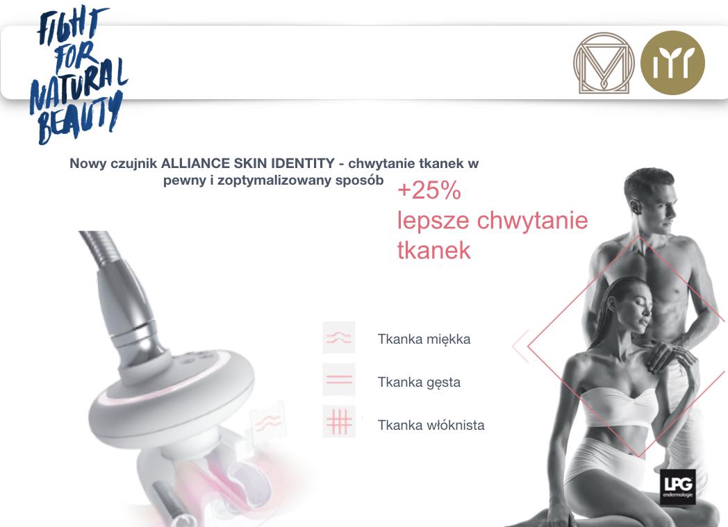 Efekty działania Alliance Skin Identity