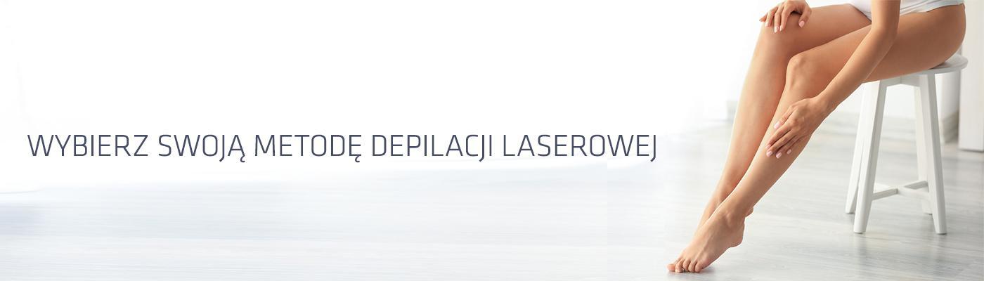Dwie technologie laserowe, najniższe ceny. Epilacja laserowa od 50 zł w Klinice Miracki